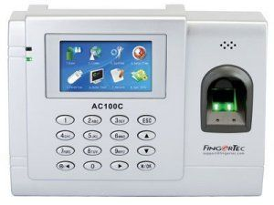 fingertec biometric time-system ac100c