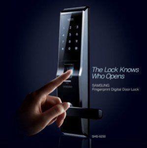 samsung exon fingerprint digital door lock shs 5230